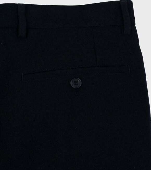 AMI - Pantalon Droit Trousers Black