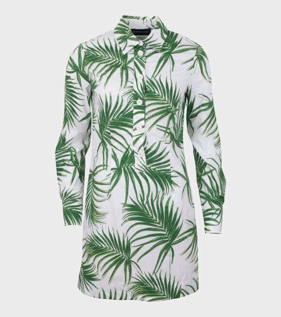 Sportmax - Udito Dress Green/White