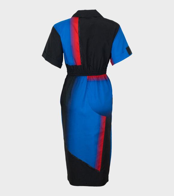 Sportmax - Ricard Dress Blue Multi
