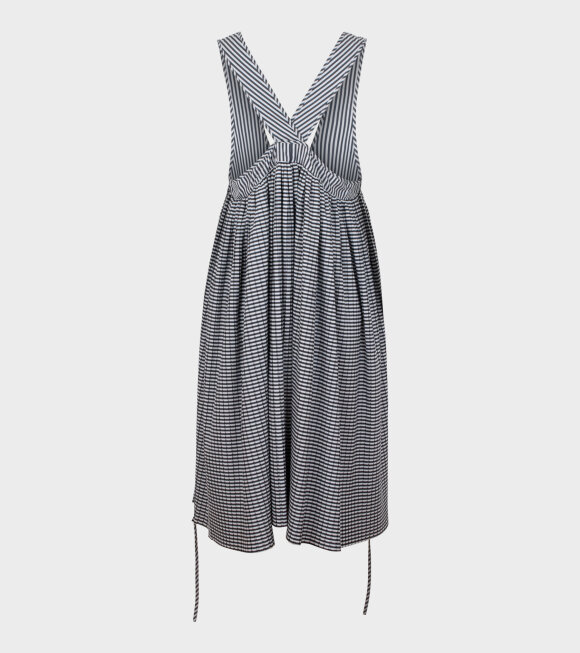 Henrik Vibskov - Cooling Dress Black Stripe Pleats