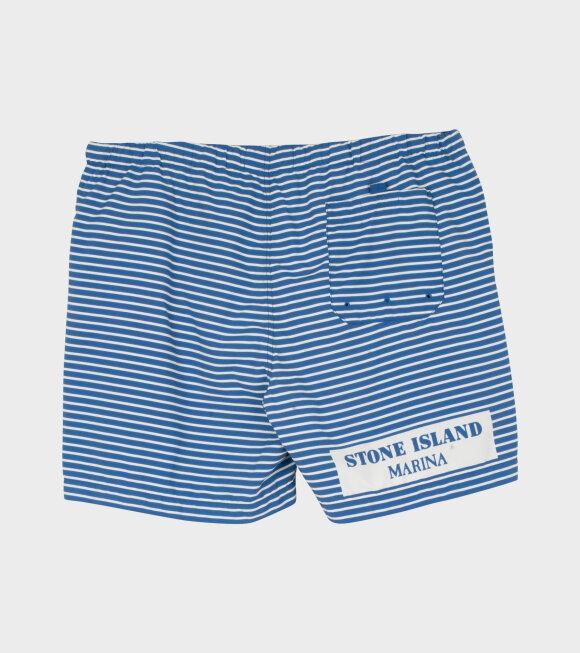 Stone Island - Marina Short Blue/White