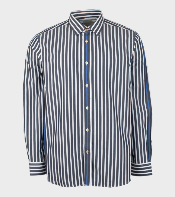Paul Smith - Mens Shirt Tailored Striped Grey