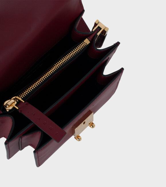 Marni - Mini Trunk Bag Red