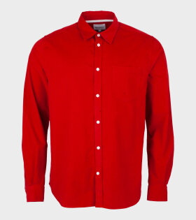 Norse Projects - Osvald Corduroy Shirt Red