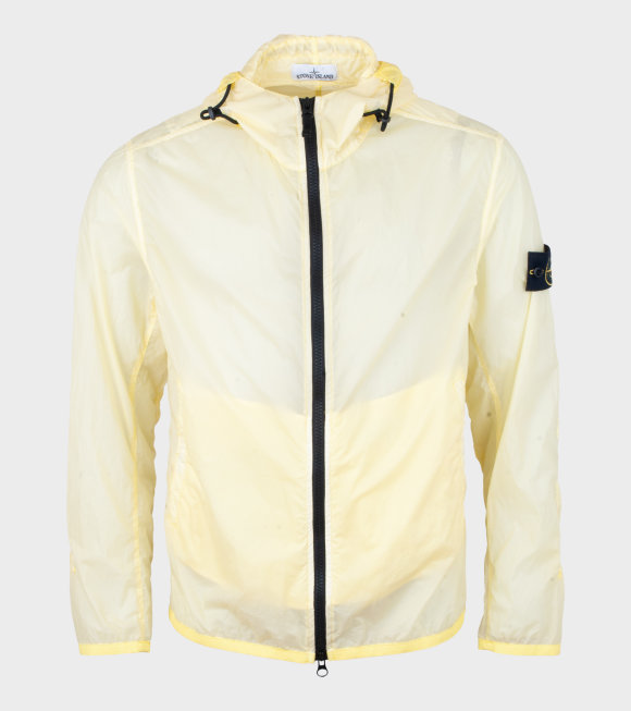 Stone Island - Lamy Velour Jacket Yellow