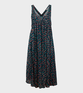 Henrik Vibskov - Windy Jersey Dress Dark Navy Multi