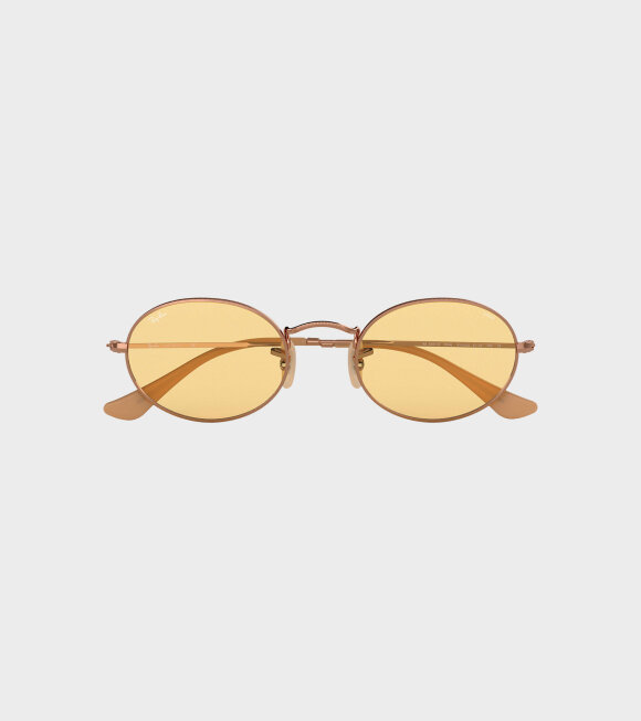 Ray-Ban - Oval Evolve Yellow Photocromic