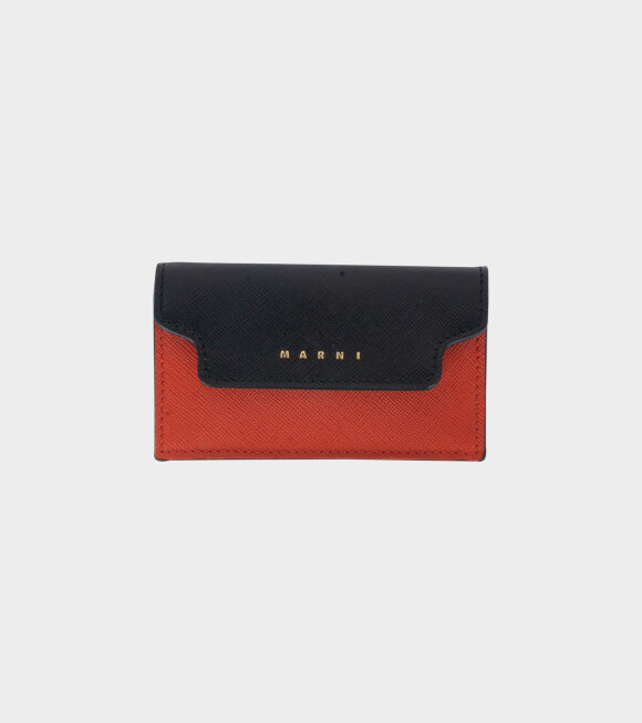 Marni - Classic Wallet Rust/Black