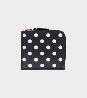 Classic Dots Wallet Black/White