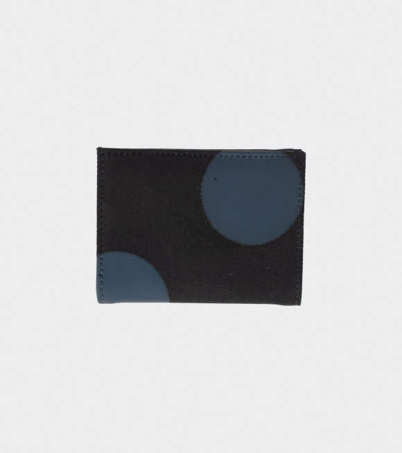 Comme des Garcons Wallet - Open Up Wallet Black/Grey Dots