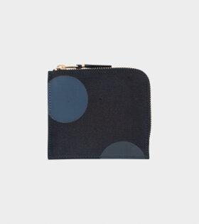Classic Wallet Black/Grey Dots