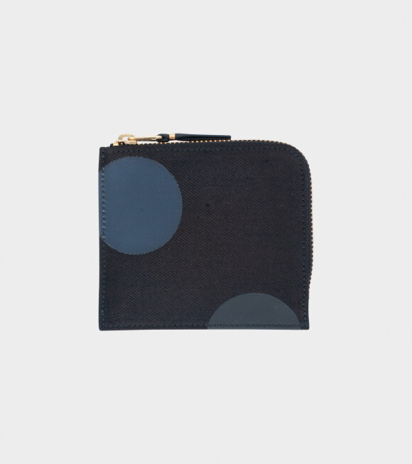 Comme des Garcons Wallet - Classic Wallet Black/Grey Dots