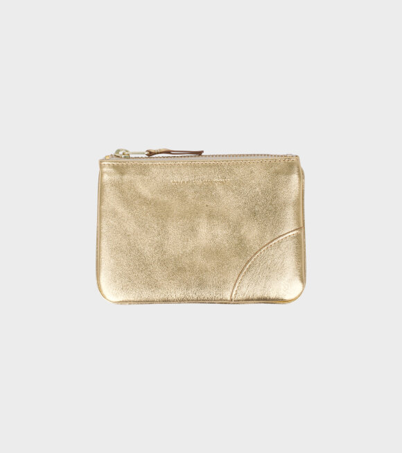 Comme des Garcons Wallet - Small Doc Wallet Gold