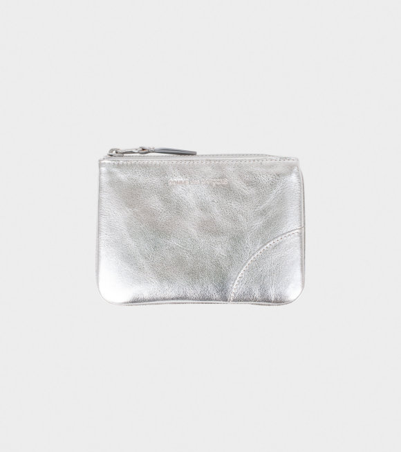 Comme des Garcons Wallet - Small Doc Wallet Silver