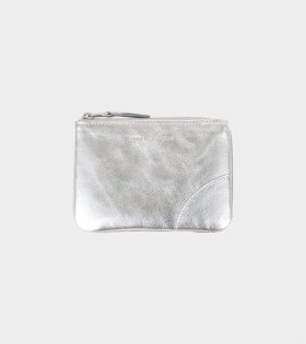 Small Doc Wallet Silver