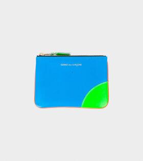 Small Doc Wallet Orange/Blue