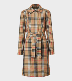 Kempton Belted Coat Archive Beige