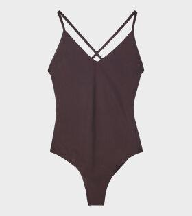 Cross-Back Swimsuit Fondant