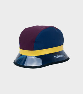 Multicolour MH Bucket Hat Burgundy