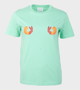 Helena Fananda - Moriko T-shirt Fried Shrimp Green