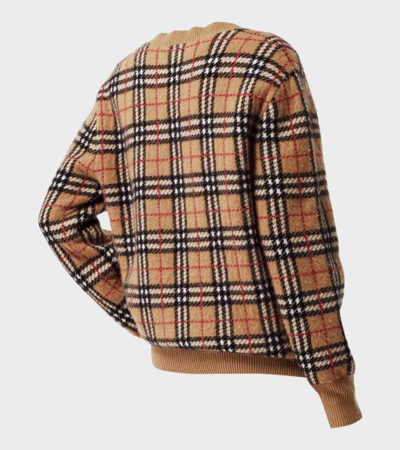 Burberry - Banbury Cashmere Sweater Camel