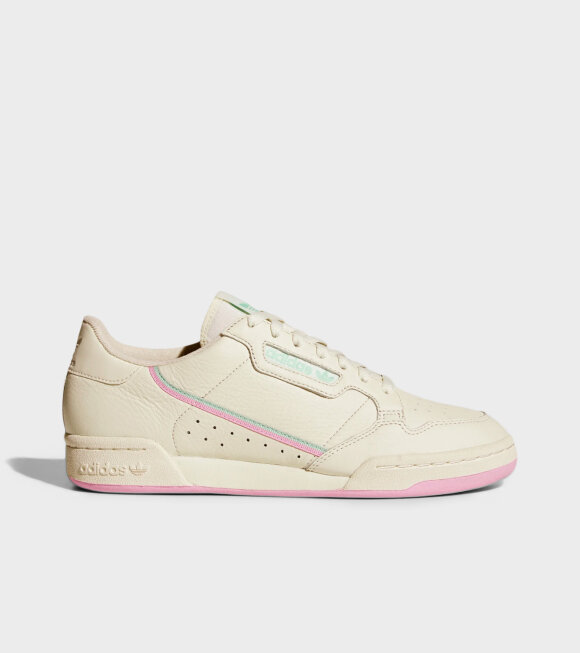 Adidas  - Continental 80 Off White/True Pink