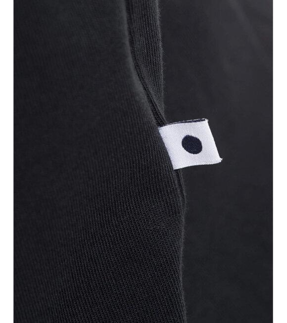 NN07 - Pima Plain Tee Black