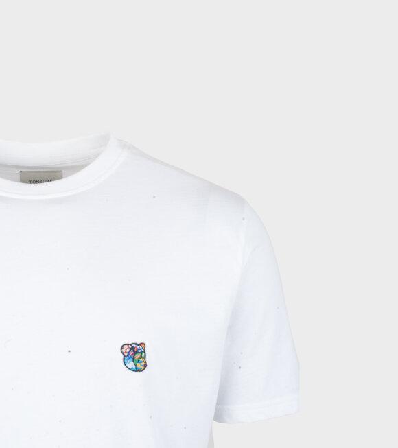 Tonsure - Teddy Regular Fit T-shirt White