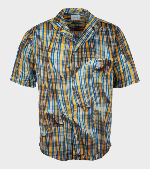 Tonsure - Teddy Bowling SS Shirt Multi Print