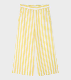 Circle Wide Pant Mix Banana