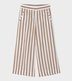 Circle Wide Pant Mix Tabacco