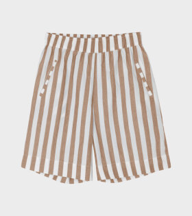 Circle Wide Shorts Mix Tabacco