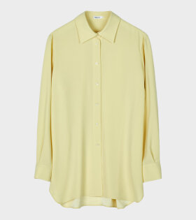 Long Crepe Shirt Yellow