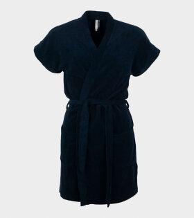 Filippa K - Terry Jersey Kimono Navy