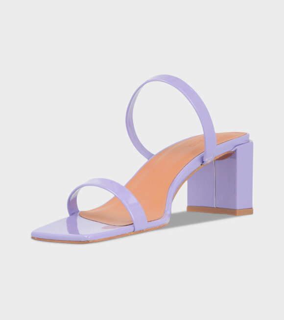 By Far - Tanya Lilac Patent Leather