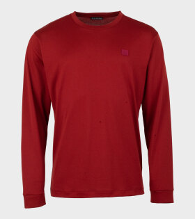 Elwood Face LS T-shirt Paprika Red