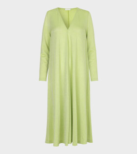 Lauren Shimmer Dress Lime