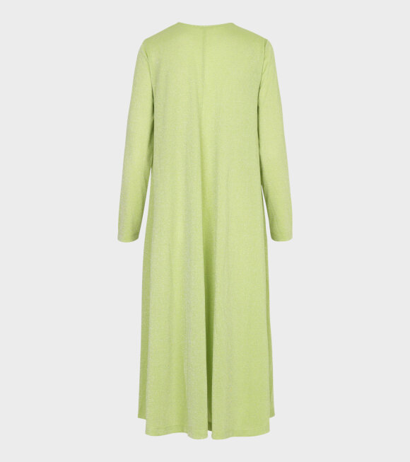 Stine Goya - Lauren Shimmer Dress Lime