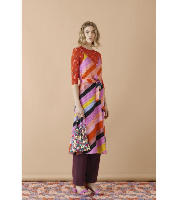 Stine Goya - Gianna Silk Dress Parallels