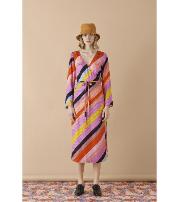 Stine Goya - Paisley Silk Dress Parallels