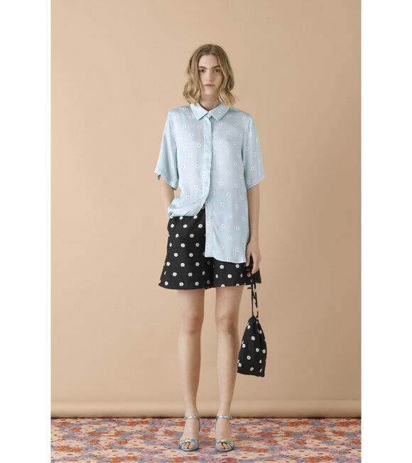 Stine Goya - Zoey Shirt Daisy Blue