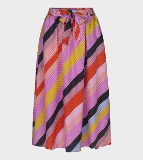 Audrey Silk Skirt Parallels