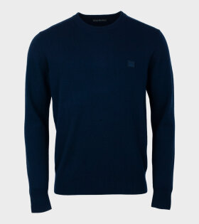 Nalon Face Sweater Navy