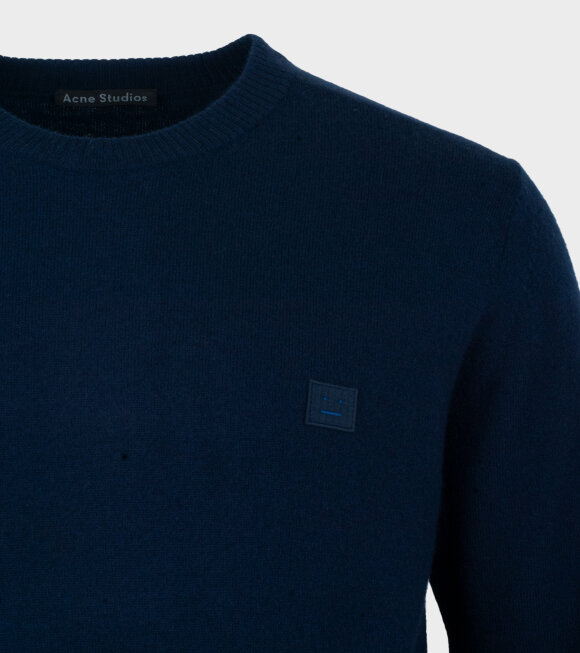 Acne Studios - Nalon Face Sweater Navy