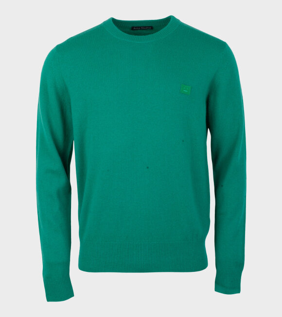 Acne Studios - Nalon Face Sweater Bright Green
