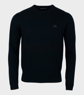 Acne Studios - Nalon Face Sweater Black (Unisex)