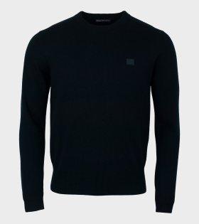 Acne Studios - Nalon Face Sweater Black