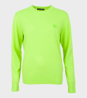 Nalon Face Sweater Lime Green