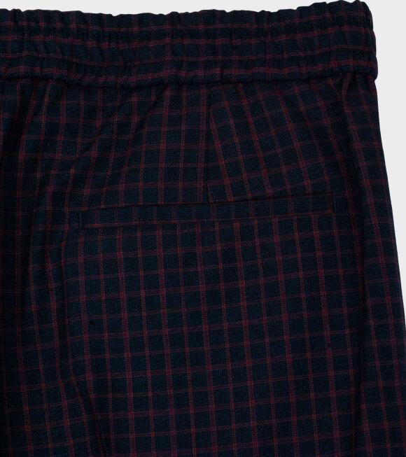 Paul Smith - Mens Drawcord Trouser Navy Multi