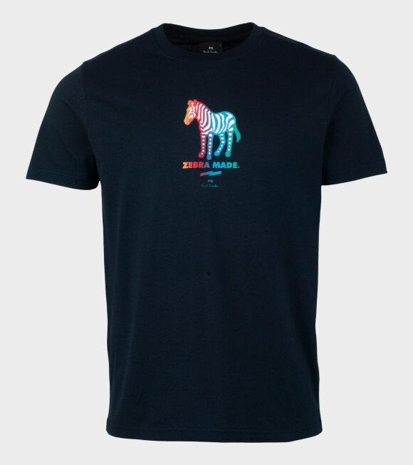 Paul Smith - Zebra Made T-shirt Navy